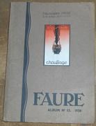 Faure Père &  Fils Album N°55 - Technical