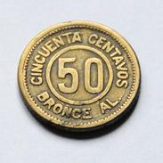 Guatemala - Provisional Coinage - 50 Centavos - 1922 - Guatemala