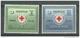 Pakistan: 1959   Red Cross    MH - Pakistan