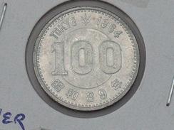 Japon 100 Yen 1964 ARGENT SILVER Japan - Japon