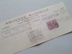 Ancienne Mutuelle / Le Havre ROUEN - Anno 1942 ( Zie Foto Details ) !! - France