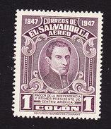El Salvador, Scott #C110, Mint Hinged, Arce, Issued 1948 - El Salvador