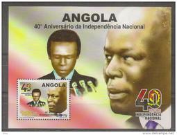 ANGOLA 2015 40th Anniversary Of National Independence - Angola