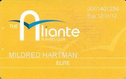 Aliante Casino Las Vegas - Elite Players Club Card With 1-800-692-7777 Phone# - Casino Cards