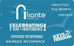 Aliante Casino Las Vegas - 1 Year Anniversary Slot Card - Casino Cards