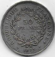 Imitation  50 Francs  1877 - Variétés Et Curiosités