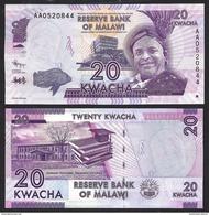 Malawi 20 KWACHA 2012 P 57 UNC - Malawi