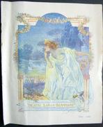 PROGRAMME THEATRE SARAH BERNHARDT  LA DAME DE MONSOREAU BELLE COMPOSITION DE NEUMON  8 PAGES - Programmes