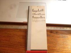 Marque-page Fagelet Co Bruxelles Magasin De Tissus Chapeaux Cravates Etc - Marque-Pages