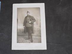 PHOTO/PORTRAIT Militaire Belge Prénommé Léopold, 12e Régiment De Ligne 26/2/1919.Photo Aumont-Dassauge-Bellegarde-AIN - 1914-18