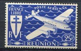 REUNION -  Pa  Yv. N° 32  *  25f  Série De Londrescote 0,9  Euro  BE 2 Scans - Réunion (1852-1975)