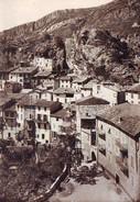 SIGALE - Alt. 630 M. La Plastre, L'Hôtel Terminus Et  Le Vieux Village - France