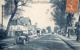 La Vieille Poste Route De Fontainebleau Carte En Très Bon état - France