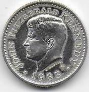 Médaille  J. F. KENNEDY  En Argent 1er Titre - Etats-Unis