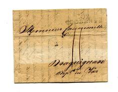 !!! PRIX FIXE : DEPT CONQUIS, 102 RHIN ET MOSELLE, MARQUE POSTALE DE COBLENTZ SUR LETTRE DE 1809 - 1792-1815: Départements Conquis