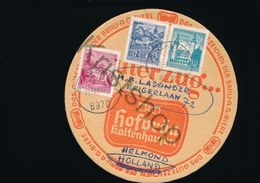 Bierviltje Hofbräu - Kaltenhausen - Per Post Verstuurd [D2463 (very Rare) - Sous-bocks