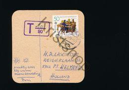 Bierviltje 50 Jahre Wuppertal - Schloß Lüntenbeck - Per Post Verstuurd [D2464 (very Rare) - Sous-bocks
