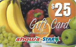 Shaw's Supermarkets / Star Market - Food Store Gift Card - Gift Cards