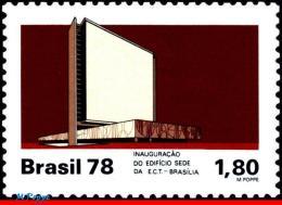 Ref. BR-1561 BRAZIL 1978 PHILATELIC EXHIBITION, POST AND TELEGRAPH, BUILDING, ARCHITECTURE, MI# 1655, MNH 1V Sc# 1561 - Brazil