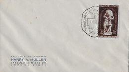 ARGENTINA 1948 - Letter Buenos Aires Estudio Filatelico Harry A. Muller - FDC