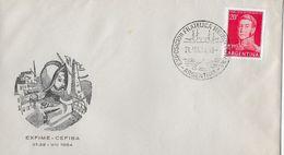 ARGENTINA 1954 - Letter EXFIME - CEFIBA - Argentine