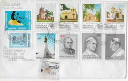 ARGENTINA 1979 - R-Letter Via Aerea From SUIZA - Argentine