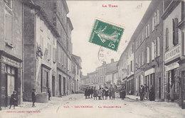 SALVAGNAC  La Grande Rue  ( Plan Animé ) - Valence D'Albigeois
