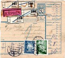 Document Expédition Avec Timbres SLOVAQUIE 1944 (251) - Covers & Documents