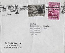 ARGENTINA 1951 - Letter R.Friedheim Buenos Airos To SUIZA - Argentine