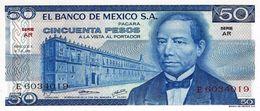 MEXIQUE 50 PESOS 1973 P-65a NEUF SERIE AR [MX065a] - Mexico