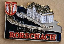 CHÂTEAU - CASTLE - SCHLOSS - RORSCHACH - VERKEHRSVEREIN - SCHWEIZ - SUISSE - SWITZERLAND -    (ROUGE) - Cities
