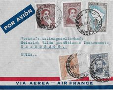 ARGENTINA 1939 - Letter Buenos Aires Via Aerea Air France To SUIZA - Argentine