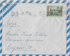 ARGENTINA AEREO 1962 - Cover With Stamp 5 Pesos Stamped AEREO 18 Pesos - Poste Aérienne