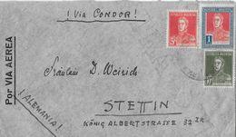ARGENTINA 1935 - Letter To Stettin Alemania, Via Condor - Argentine