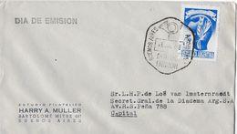 ARGENTINA 1948 - Dia De Emision , Letter Buenos Aires, CUARTA DISTRIBUCION - FDC