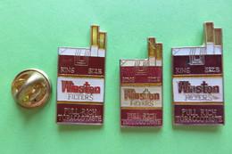 3 Pin's, Cigarette, Zigaretten, Winston - Trademarks