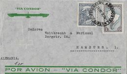 ARGENTINA 1956 - Letter Por Avion Via Condor To Hamburg Alemania - Argentine