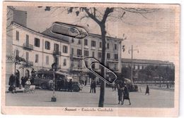 SASSARI EMICICLO GARIBALDI  VIAGGIATA 1941 - Sassari