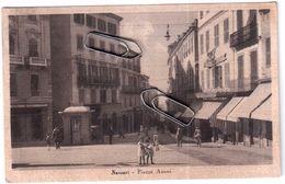 SASSARI PIAZZA AZUNI  VIAGGIATA 1941 - Sassari