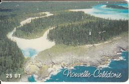 """NEW CALEDONIA(chip) - Presqu""""il D""""oro, Tirage 40000, 05/01, Used - New Caledonia"""