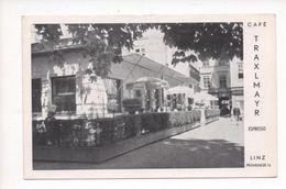 4010  LINZ, CAFE TRAXLMAYR  ~ 1950 - Österreich
