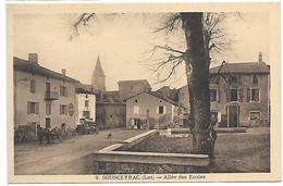 SOUSCEYRAC - Allée Des Ecoles - Sousceyrac