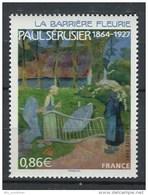 France 2007 - N° 4105 - Paul Sérusier - La Barrière Fleurie - Neuf** - Unused Stamps