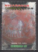 NICARAGUA    SCOTT NO. 2241    USED      YEAR  1998 - Nicaragua