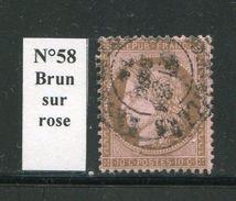FRANCE- Y&T N°58- Cachet à Date - 1871-1875 Ceres