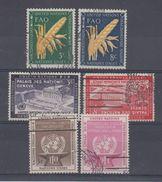 NATIONS UNIS - NEW YORK - 23/28 Obli Cote 10,90 Euros Depart A 10% - New-York - Siège De L'ONU