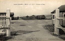RARE  51 - Saint-Eulien - La Gare - 372e R. A. L. V. F. - L'Entrée Du Parc - Otros Municipios