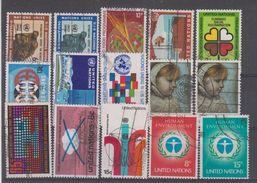 NATIONS UNIS - NEW YORK - 209/223 Obli Cote 9,85 Euros Depart A 10% - Oblitérés