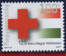 Ref. HU-4008 HUNGARY 2006 HEALTH, RED CROSS - 125TH ANNIV., MINT MNH 1V Sc# 4005 - Rotes Kreuz