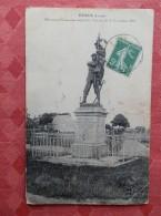 Dep 45 , Cpa  EPIEDS ,  Monument Commémoratif De La Victoire Du 9 Novembe 1870 (079) - Otros Municipios